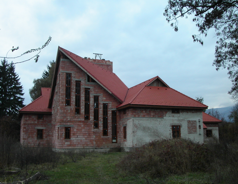 Completing Church Construction in Krpelany