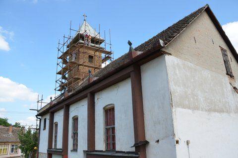 Repairing Lutheran Church in Ilok, Croatia