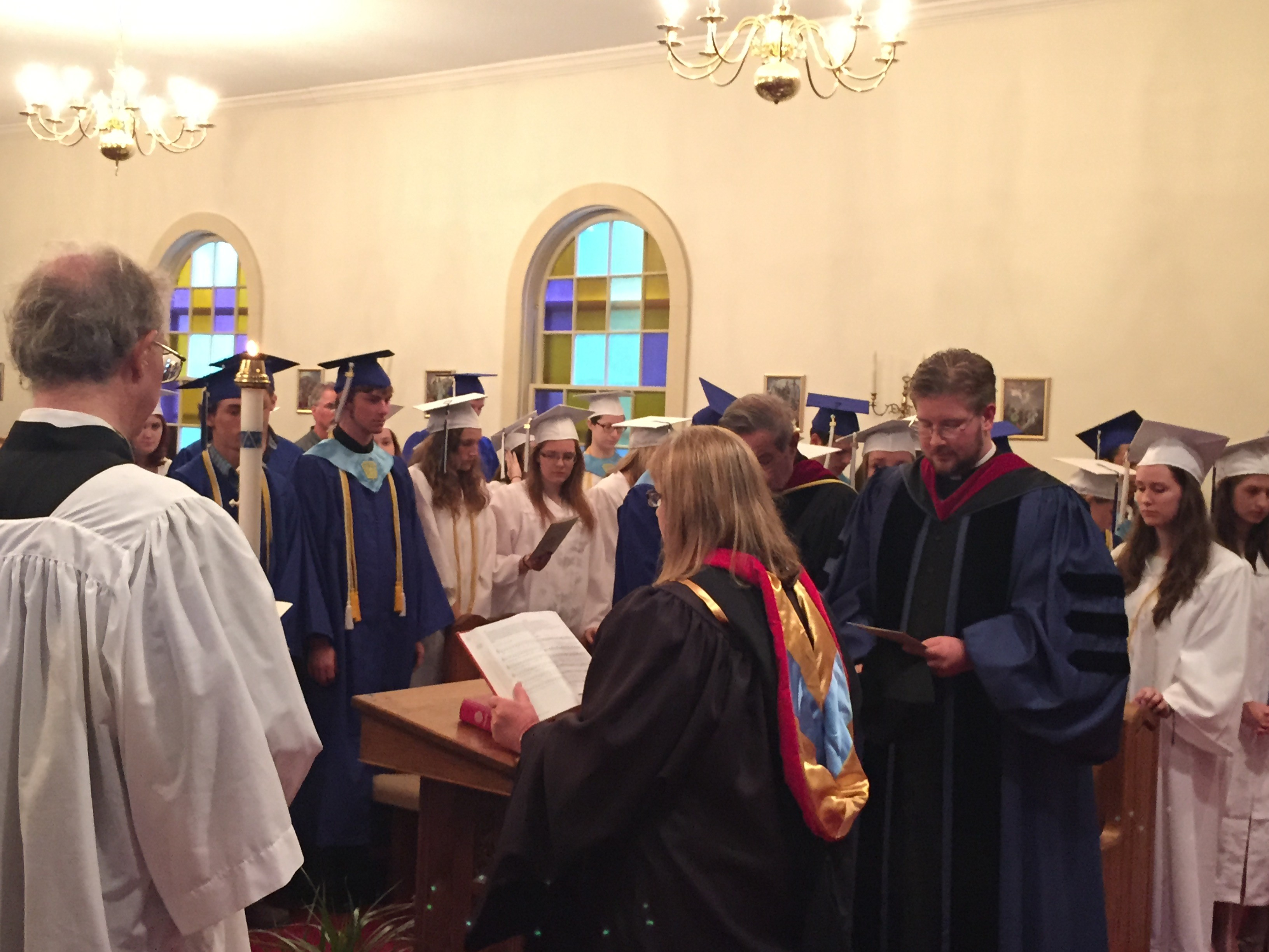 Holy Trinity Hosts Baccalaureate Service