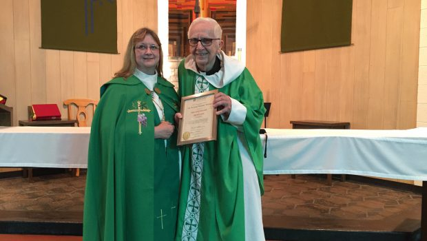 The Rev. Kenneth Michnay Celebrates 50 Years of Ordination