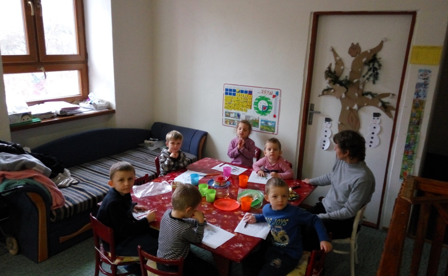 Support of a church pre-school in Ratkovska-Bystre